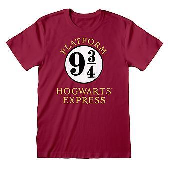 Harry Potter Mens Hogwarts Express T-paita