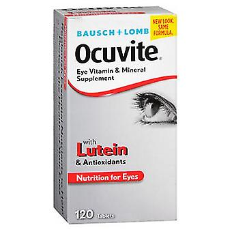 Bausch And Lomb Ocuvite Eye Vitamin & Mineral Supplement Tablets, 120 Tabs