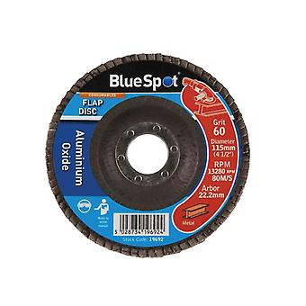 BlueSpot Tools Sanding Flap Disc 115mm 60 Grit B/S19692