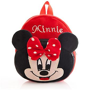 Hello Kitty/mickey/minie Cartoon Plush Backpack