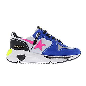 Golden Goose Running Cocco Print Star Blue GWF00126F00028180283 shoe