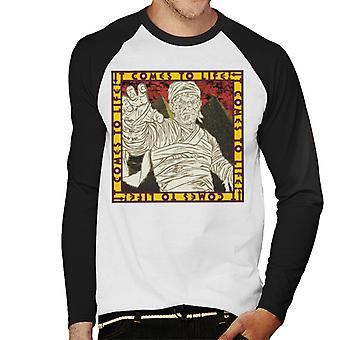 The Mummy It Comes To Life Men's Baseball Long Sleeved T-Shirt