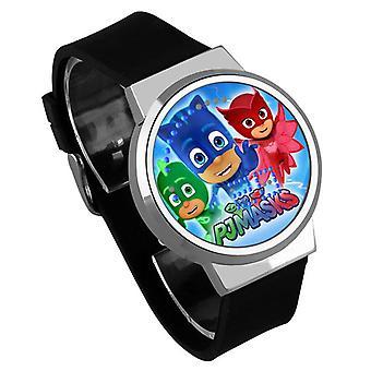 Waterproof Luminous LED Digital Touch Children watch  - PJ Masks #12