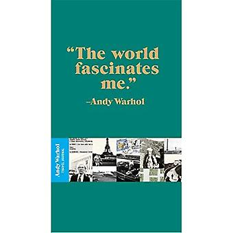 Andy Warhol Quotation Travel Journal