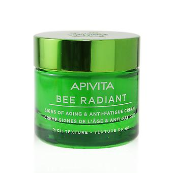 Bee radiant signs of aging & anti fatigue cream rich texture 256682 50ml/1.69oz