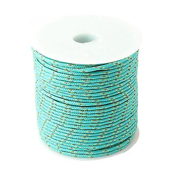 Paracord 2mm Reflective Paracord 3 Strand Core Outdoor Camping Rope Parachute