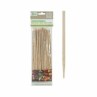 10inch 150 pc's Eco Connection Wegwerp BBQ Bamboo Spiesjes - 832088