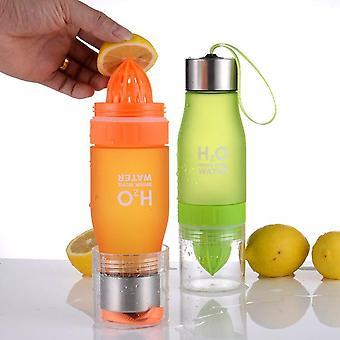 Zitronenfrucht-Entsafter-Flasche