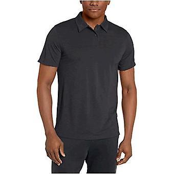 Brand - Peak Velocity Men's VXE Short Sleeve Quick-Dry Loose-fit Polo Shirt