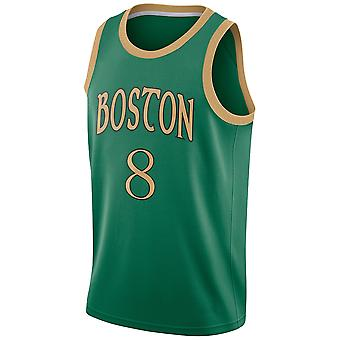 Boston Celtics No.8 Kemba Walker Loose Basketball Jersey Sports Shirts 3QY058