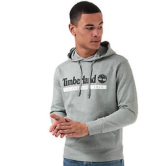 Men's Timberland Established 1973 Hoody in Grey