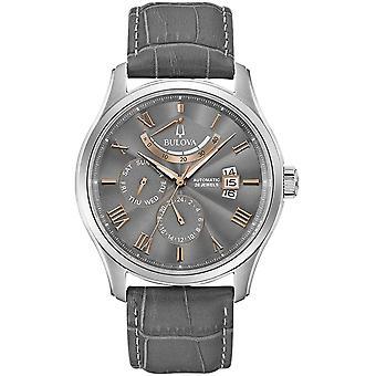 Montre-bracelet automatique Bulova 96C143 Homme&s Classic Grey Dial Wilton