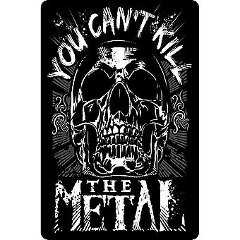 Grindstore You Cant Kill The Metal Plaque