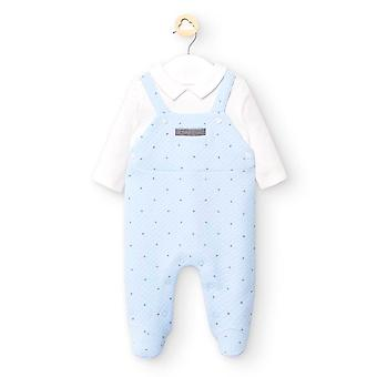 Mayoral baby boys blue babygrow 2633 27