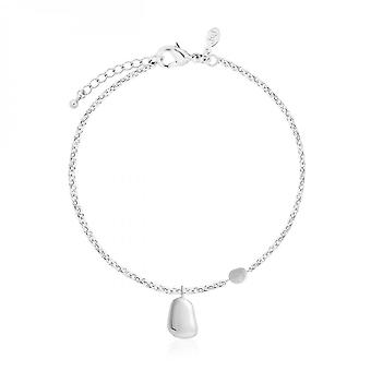 Joma Sieraden Perfect Pebble Silver Pebble 18cm + 3cm Extender 3944