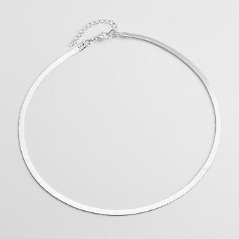 Kette Halsband Halskette Frauen Sexy flache Schlange Kette