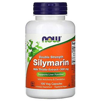 Now Foods, Silymarin, Milk Thistle Extract, 300 mg, 100 Veg Capsules