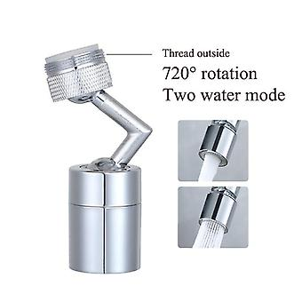 Splash Filter Faucet Spray Head, Wash Basin Extender, Adapter Kitchen Tap,