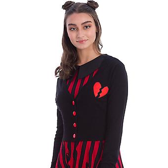 Banned Apparel Broken Heart Cardigan
