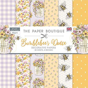 The Paper Boutique - Bumblebee's Dance Collection - 8x8 Paper Pad