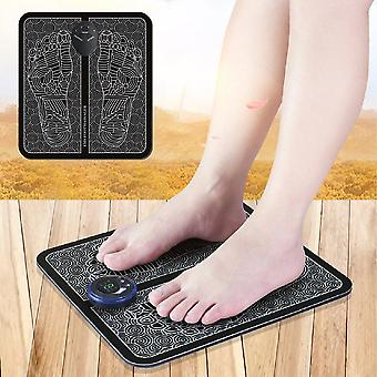 Fitness ems tens acupuncture foot massager muscle stimulator acupoint mat health care foot muscle electric