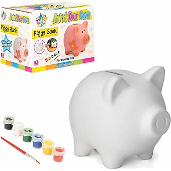 Made It Paint Your Own Piggy Bank
