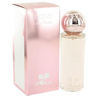 Rose De Courreges Eau De Parfum Spray (New Packaging) By Courreges 3 oz Eau De Parfum Spray