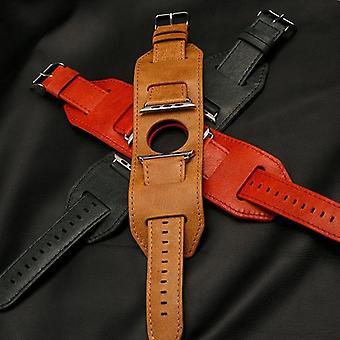 Bracelet Style Genuine Leather Apple Watch Band