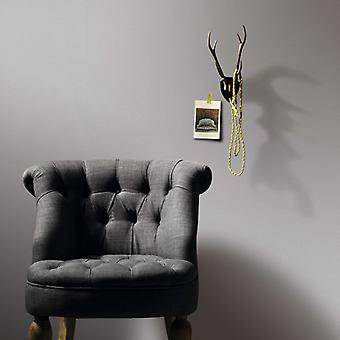vidaXL wallpaper rolls fleece 4 pcs. Gentle shimmering light grey 0.53×10 m