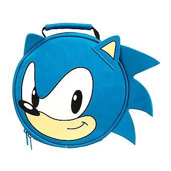 Sonic la bolsa de almuerzo redonda erizo
