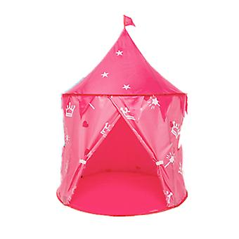 Girls Play Tent Portable Indoor Toy Princess Castle Girls Tent Pink