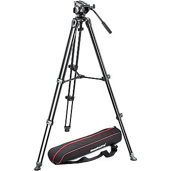 DZK MVK500AM, Lightweight Fluid Video System, Head Included, Professional Tripod, Compatible with
