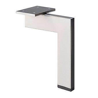 Acero inoxidable / INOX diseño esquina perfil muebles pierna 21 cm (1 pieza)