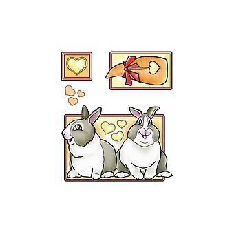 Jeje Marij Rahder Clear Stamps Rabbits
