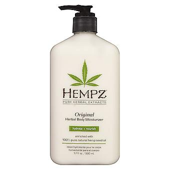 Hempz Original Salon Herbal Hydrating Body Moisturiser Skin Lotion - 500ml