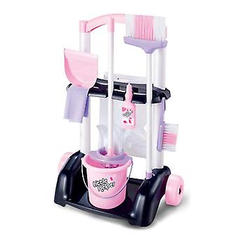 House Cleaning Trolley Set, Kids Pretend Play Toy, Little Helper Household