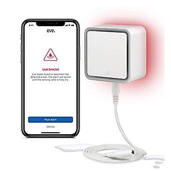 Eve Water Guard - Intelligent water leak detector, 2m detector cable (extensible), 100 dB siren, Ref alarm. 4260195391895