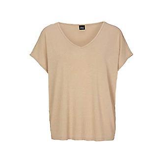 s.Oliver BLACK LABEL 150.10.005.12.130.2040444 T-Shirt, Beige, 46 Donna