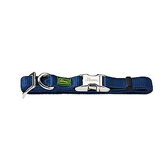 Vario Basic Alu-Strong collar, M 30-45, marin, Nylon