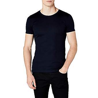 Trigema, T-shirt för män, blå(marin), XL