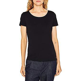 ESPRIT 999ee1k815 T-Shirt, Zwart (Zwart 001), X-Large Woman