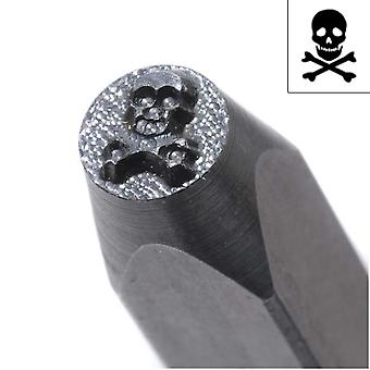 Skull & Crossbones Punch For Stamping Metal 1/5 Inch Inch 5mm (1)