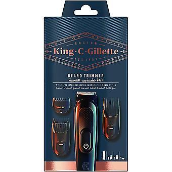 FengChun King C. Cordless Bart Trimmer Kit für Männer mit lebenslangen scharfen Klingen, enthält 3