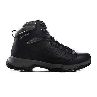 بيرغهاوس Expeditor ريدج 2.0 المرأة في الهواء الطلق المشي حذاء الحذاء الأسود