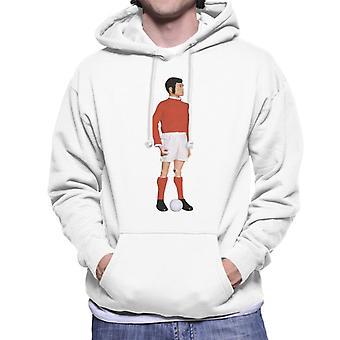 Action Man Footballer Men's Hooded Sweatshirt