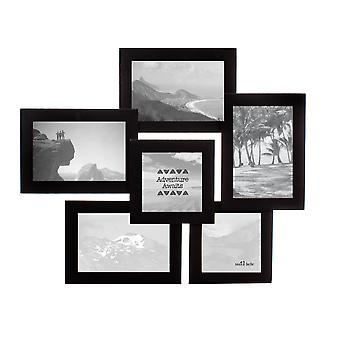 Sass &amp בל שחור שש צילום רב מסגרת