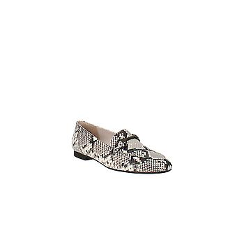 Paul Green | Bailey Snake-Embossed Apron-Toe Loafers
