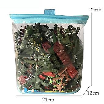 New 170pcs World War 2 Army Construction Toyset With Tent Cover Battlefield Figures ES12790
