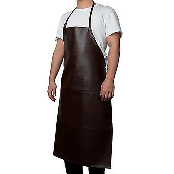 Cuero cocinando delantales para hornear