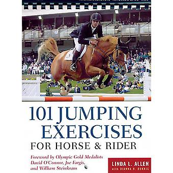 Linda Allen's 101 Jumping Exercises for Horse and Rider by Linda Alle